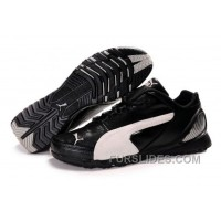 Mens Puma Grit Cat In Black/White Free Shipping 6jN7YM