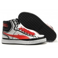 Puma First Round RP Sneakers WhiteRed Online AcX5s6