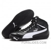 Puma Michael Schumacher High Ps Black White Cheap To Buy TNpNGK