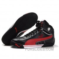 Puma Michael Schumacher High Tops Black Red Discount CbhZY