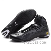 Puma Ferrari Mens High S Shoes Black Top Deals ZHQsAJ