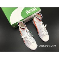 New Style PUMA Ignite EvoKnit White Orange 189697 02 1609-5