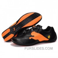 Men's Puma Jiyu V Wn's Shoes Black Orange Lastest ZDtDjn
