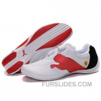 Men's Puma Jiyu V Wn's Shoes White Red Black Top Deals W7TZR6Q