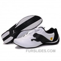 Men's Puma Jiyu V Wn's Shoes White Black Free Shipping KDAERb
