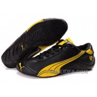 Mens Puma Kimi Raikkonen In Black/Gold Christmas Deals JN8wrWX