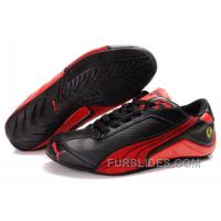 Mens Puma Kimi Raikkonen In Black/Red Free Shipping PcekY