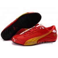 Christmas Deals Mens Puma Kimi Raikkonen In Red/Yellow 2ZBXn