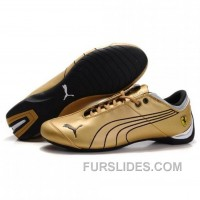 Men's Puma 10th Anniversary Metal Racing Shoes Golden For Sale SFPtn