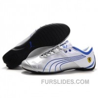 Men's Puma 10th Anniversary Metal Racing Shoes Silver Blue Cheap To Buy 2ZNWYD