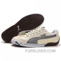 Women's Puma Michael Schumacher Shoes Light Yellow Grey Discount FhscGyi