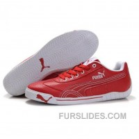 Men's Puma Michael Schumacher Shoes Red Discount P2DW37B