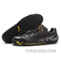 Men's Puma Michael Schumacher Shoes -Black Super Deals R2rQkRA
