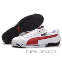 Puma Michael Schumacher Shoes White Red Lastest KJiDat