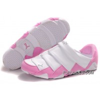 Puma Mummy Lazy Bugs Low White Pink Women For Sale