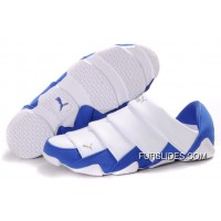 Puma Mummy Lazy Bugs Low White Blue Women Men New Style
