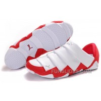 Women's Puma Mummy Low White/Red Christmas Deals MaK6AFm