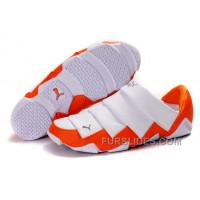 Women's Puma Mummy Low White/Orange Super Deals RbrWk