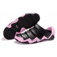 Women's Puma Mummy Low Black/Pink Lastest NxfSwje