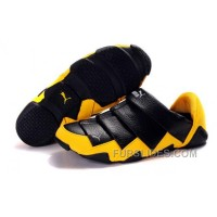 Men's Puma Mummy Low In Black/Yellow Christmas Deals 6krNA