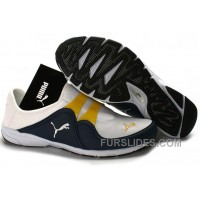 Women's Puma NEW White/Blue/Yellow Cheap To Buy YKMzG