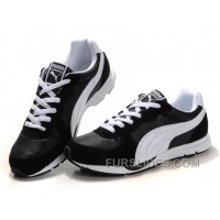 Mens Puma New Shoes In Black/White Discount TFrzKfr