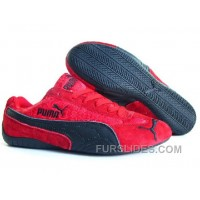 Puma New Style 087 Red/Black Christmas Deals WaEhbih