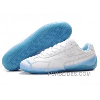 Puma New Style 888 Series White/Blue Free Shipping YsmmD
