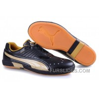 Puma New Style 008 Black/Gold Free Shipping I2brbfB