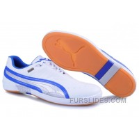 Puma New Style 008 White/Blue Christmas Deals IayyY2R