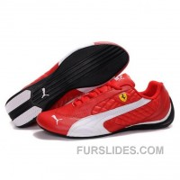 Women's Puma SF Pace Cat II In Varsity Red-White Lastest YMazceE