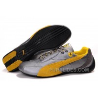 Mens Puma Pace Cat In Gray/Yellow Lastest 6nf3y