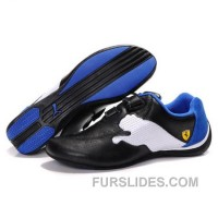 Puma SF Pace Cat III In Black-White-Blue Lastest NYjcM4s