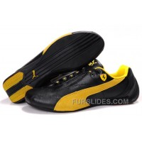 Mens Puma Pace Cat In Black/Yellow Cheap To Buy Sdn8t