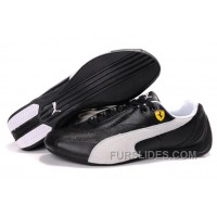 Mens Puma Pace Cat In Black/White Free Shipping TZRw2