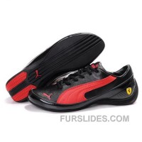 Puma SF Pace Cat IV In Black-Varsity Red Cheap To Buy P3QRMR