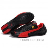 Puma SF Pace Cat II In Black-Varsity Red Free Shipping Dcp6EH