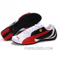 Puma SF Pace Cat II In White-Red-Black Discount PhQrpkS