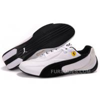 Mens Puma Pace Cat In White/Black Authentic PyZXQd