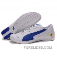 Puma SF Pace Cat IV In White-Royal Blue Lastest 8CNynRW