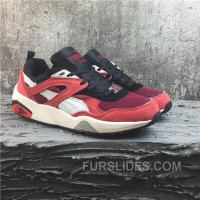 Puma R698 Classic Vintage Running Shoes Red Women/men Cheap To Buy