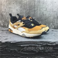 Puma R698 Yellow White Running Shoes Top Deals