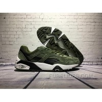 PUMA R698 Dark Green Women/men Top Deals