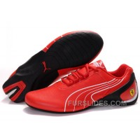 Christmas Deals Mens Puma Repli Cat In Red/Black HJNEr