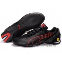 Mens Puma Repli Cat In Black/Red Authentic CxcHhH