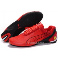 Mens Puma Repli Cat In Red Top Deals TKinW2