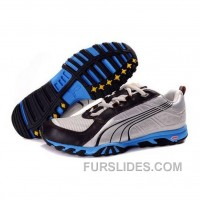 Puma Rodalban XC Low Running - Silver Black Blue Cheap To Buy 5tKDcs