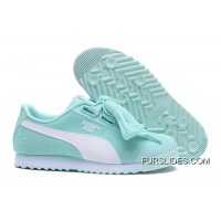 PUMA Roma TK Graphic Womens Light Blue Butterfly Shoes Basket Copuon Code