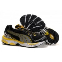 2010 Puma Running Shoes In Black/Yellow Online NTc4Yz