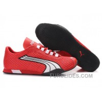 Puma H-Street Rising Plus Running Shoes RedWhite Free Shipping AQPTH